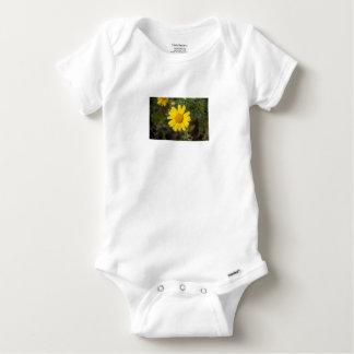 Body Para Bebé Amarillo del Cu de la flor de la margarita