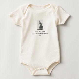 Body Para Bebé Amélie Julia Candeille 1792