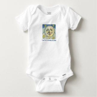 Body Para Bebé Ámele a la luna y al Onsie trasero
