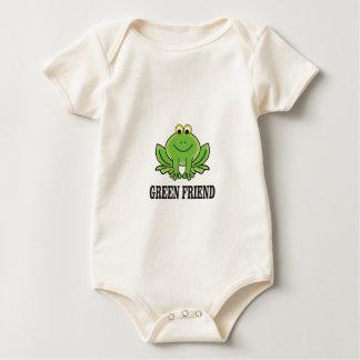 Body Para Bebé amigo verde