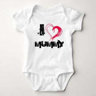 Body Para Bebé Amo a la momia