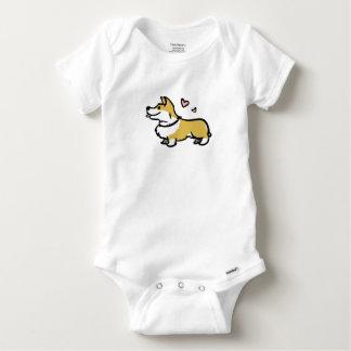Body Para Bebé Amo a mi bebé del corgi