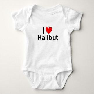 Body Para Bebé Amo el halibut del corazón