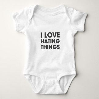 Body Para Bebé Amo el odiar de cosas