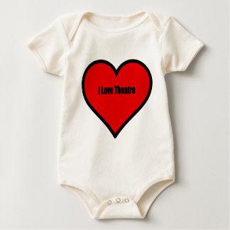 Body Para Bebé Amo el teatro