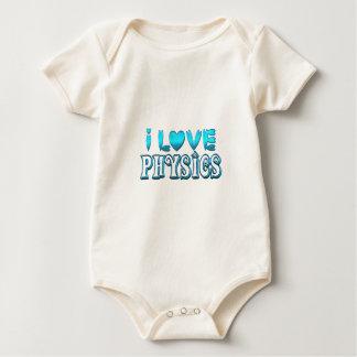 Body Para Bebé Amo la física