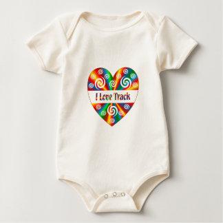 Body Para Bebé Amo la pista