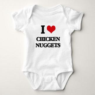 Body Para Bebé Amo las pepitas de pollo