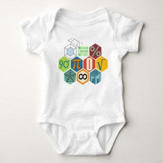 Body Para Bebé Amo matemáticas