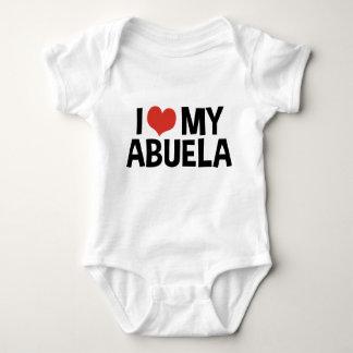 Body Para Bebé Amo mi Abuela