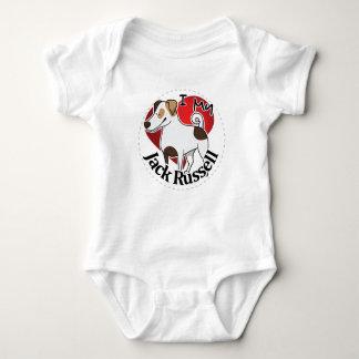 Body Para Bebé Amo mi Jack divertido y lindo adorable feliz