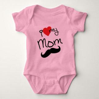 Body Para Bebé Amo mi mono de la mamá