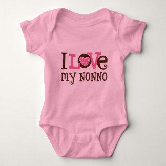 Body Para Bebé Amo mi Nonno