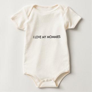 Body Para Bebé AMO MI onsie de las MAMÁS
