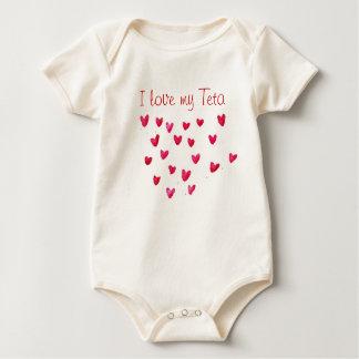Body Para Bebé Amo mi Teta