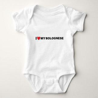 Body Para Bebé amor boloñés