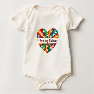 Body Para Bebé Amor de Bichon