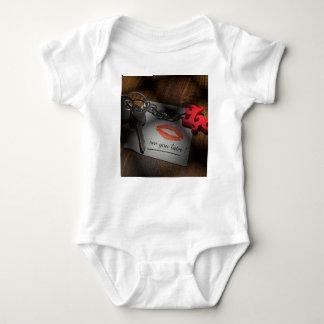 Body Para Bebé Amor de la cerradura del labio