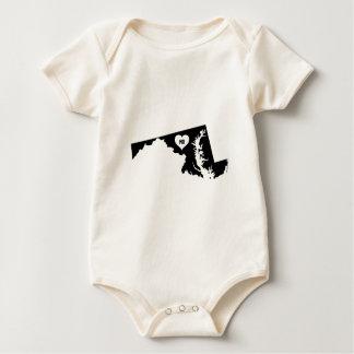 Body Para Bebé Amor de Maryland