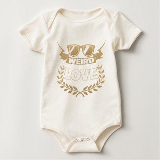 Body Para Bebé amor extraño