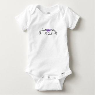 Body Para Bebé Amor que es mi una pieza del bebé de la música del