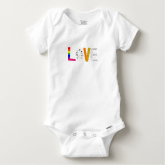 Body Para Bebé Amor universal