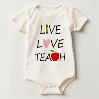 Body Para Bebé amor vivo teach2