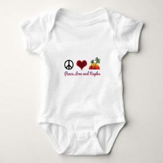 Body Para Bebé amor y Nápoles de la paz