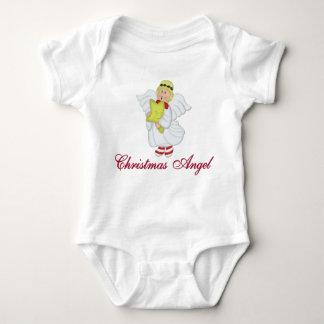 Body Para Bebé Ángel del navidad