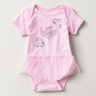 Body Para Bebé Ángel rosado del tutú