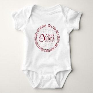 Body Para Bebé Aniversario de la reforma 500 años 1517 - 2017