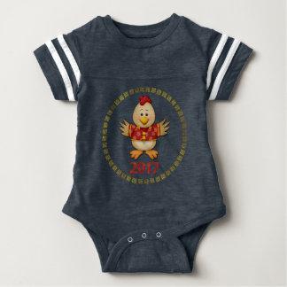 Body Para Bebé Año nacido del gallo 2017