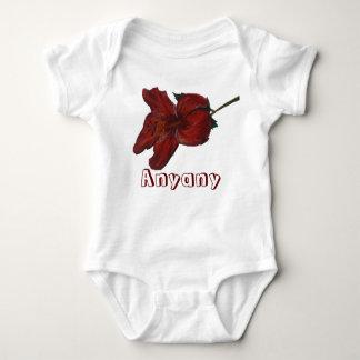 Body Para Bebé Anyany e hibisco (ningún mälk)