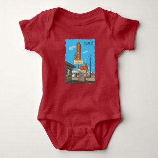 Body Para Bebé Apartamentos de la siesta en la ruta 66