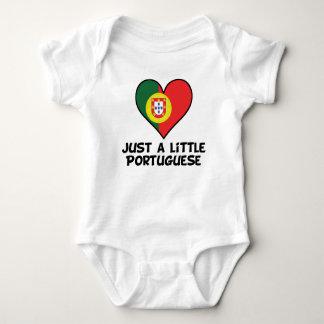 Body Para Bebé Apenas un poco portugués