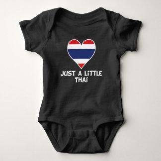 Body Para Bebé Apenas un poco tailandés