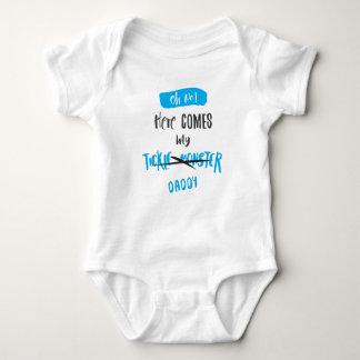 Body Para Bebé ¡Aquí viene el monstruo de las cosquillas - papá!