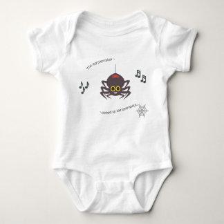 Body Para Bebé Araña bitsy itsy del bebé de la poesía infantil