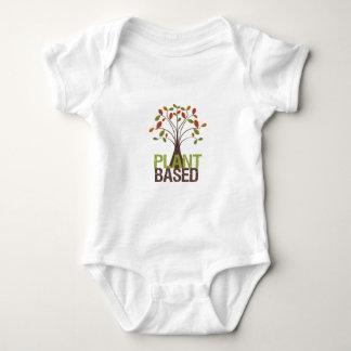 Body Para Bebé Árbol basado planta de la caída