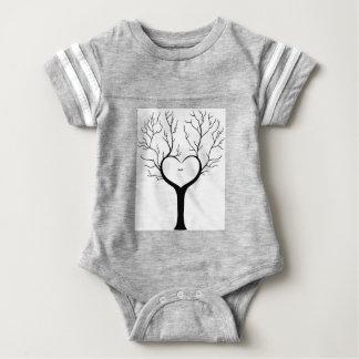 Body Para Bebé Árbol de Thumbprint