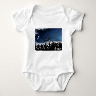 Body Para Bebé Árboles del noroeste del horizonte