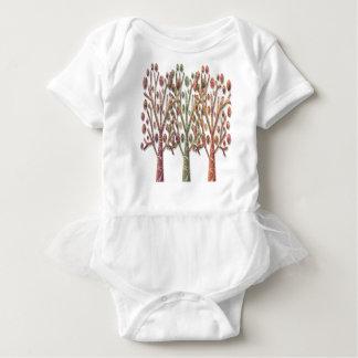 Body Para Bebé Árboles mágicos del otoño