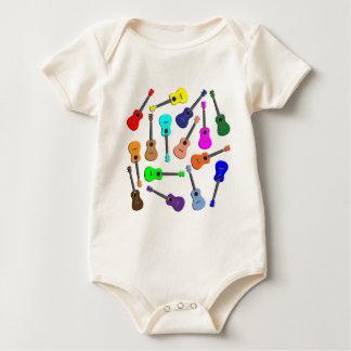 Body Para Bebé Arco iris del Ukulele