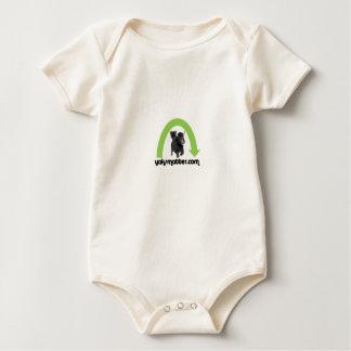 Body Para Bebé arco iris verde