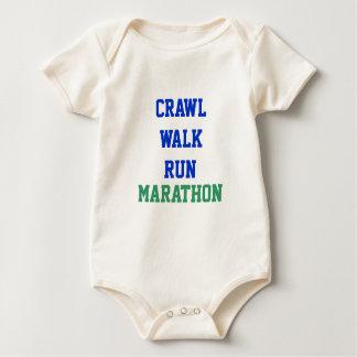 Body Para Bebé Arrastre, paseo, funcionamiento, MARATÓN