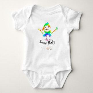 Body Para Bebé Arte colorido del mono del bebé del muñeco de