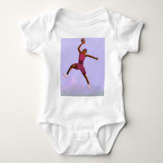Body Para Bebé Arte del juego de baloncesto