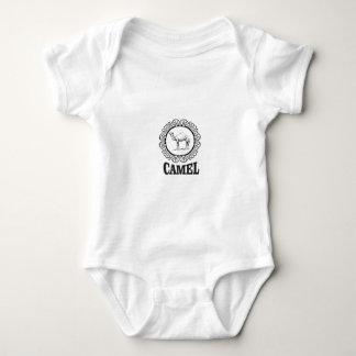 Body Para Bebé arte del logotipo del camello