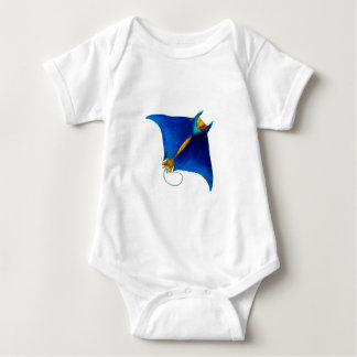 Body Para Bebé arte del rayo de manta