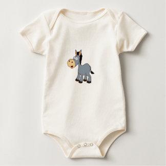 Body Para Bebé arte gris del caballo